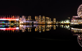 Our Escapades - Vancouver Downtown at Night-fi