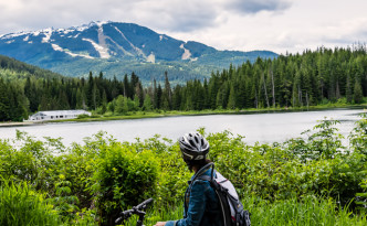 Our Escapades - Biking in Whistler - Featured Image