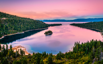 Emerald Bay Lake Tahoe Sunset - CC