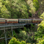 Kuranda, a dainty village in the rainforests of Australia