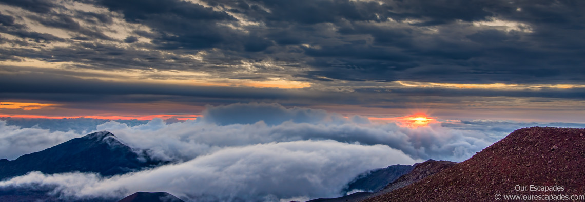 Our Escapades - Sunrise from Haleakala Volcano - Featured Image-2