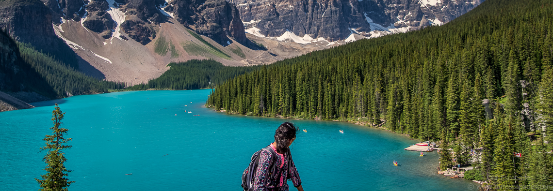 Our Escapades - Lake Moraine - Featured Image