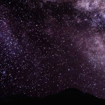 Milky Way Shines at Lassen Volcanic National Park